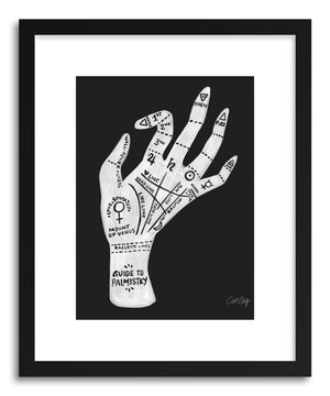 Art print Palmistry White by artist Cat Coquillette