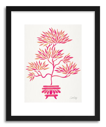 Art print Pink Bonsai by artist Cat Coquillette