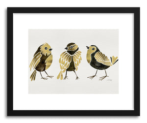Fine art print Gold Finches by artist Cat Coquillette
