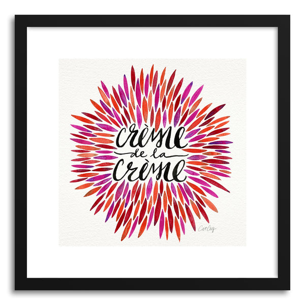 Art print Pink Creme DeLa Creme by artist Cat Coquillette