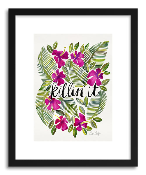 Art print Pink Killin It by artist Cat Coquillette