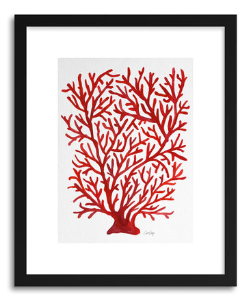 Art print Red Coral by artist Cat Coquillette