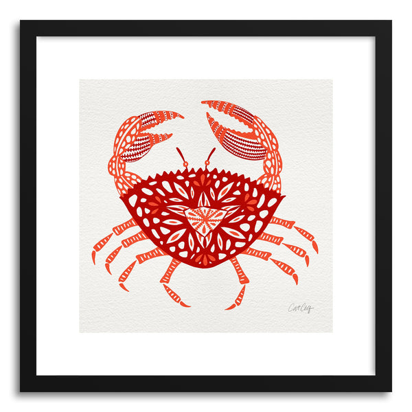 Art print Red Crab by artist Cat Coquillette