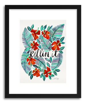 Art print Red Killin It by artist Cat Coquillette
