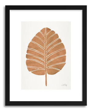 Art print Rose Gold Alocasia by artist Cat Coquillette