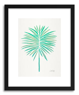 Art print Sea Foam Fan Palm by artist Cat Coquillette