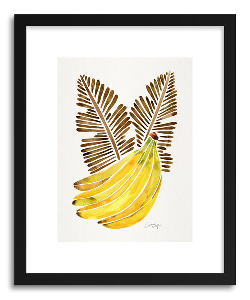 Art print Sepia Bananas by artist Cat Coquillette