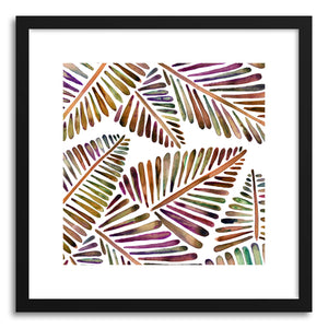 Art print Vintage Banana Leaves Pattern by artist Cat Coquillette