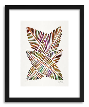 Art print Vintage Banana Leaves by artist Cat Coquillette
