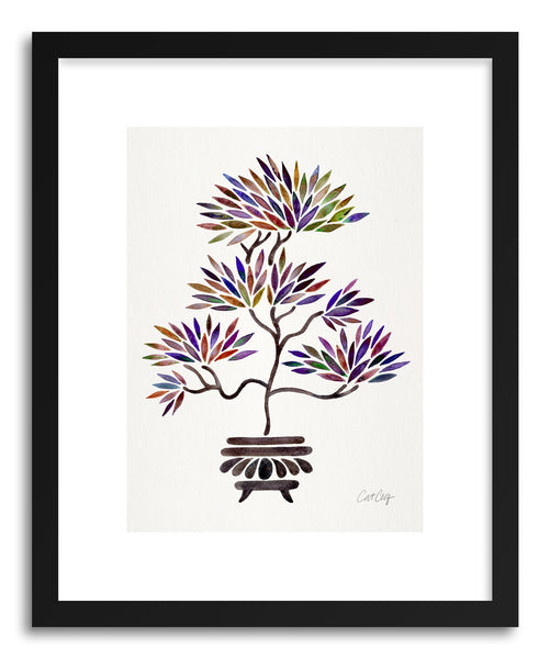 Art print Vintage Bonsai by artist Cat Coquillette