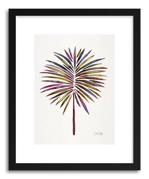 Art print Vintage Fan Palm by artist Cat Coquillette