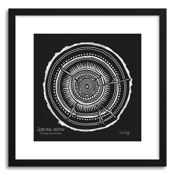 Art print White Quaking by artist Cat Coquillette