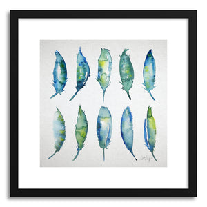 Fine art print 10 Feathers by artist Cat Coquillette