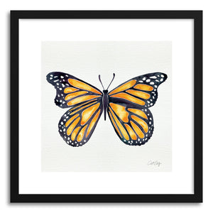 Fine art print Orange Butterfly by artist Cat Coquillette
