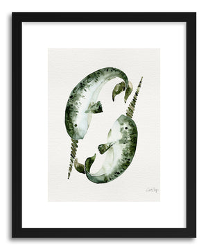 Fine art print Original Narwhals by artist Cat Coquillette