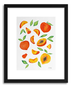 hide - Art print Peaches by artist Cat Coquillette on fine art paper
