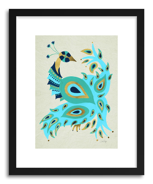 Fine art print Peacock Gold by artist Cat Coquillette