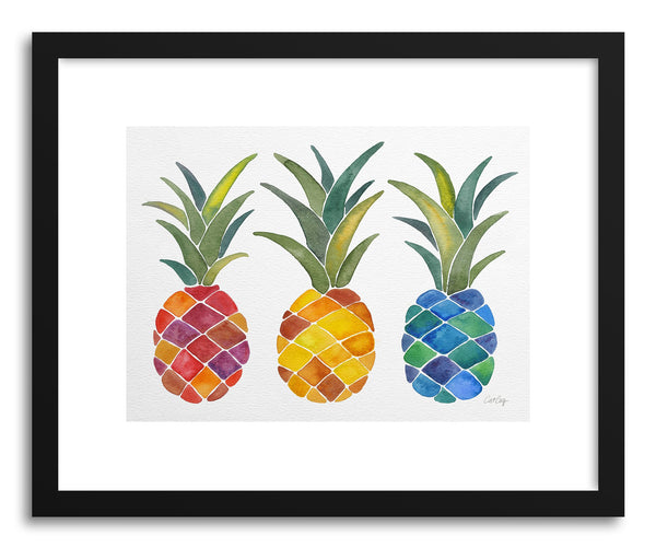 Fine art print Pineapples by artist Cat Coquillette