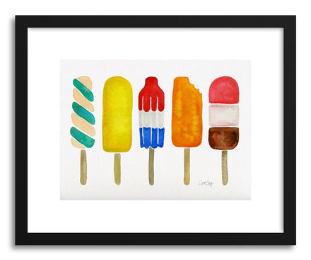 Fine art print Popsicles by artist Cat Coquillette