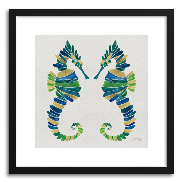 Fine art print Seahorse Multi by artist Cat Coquillette