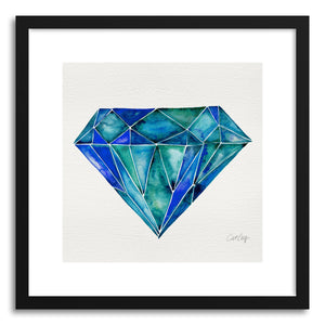 hide - Art print Aquamarine by artist Cat Coquillette on fine art paper