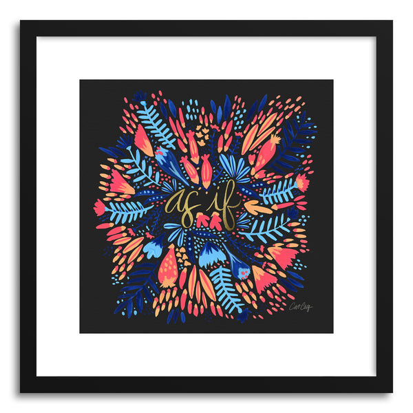 Art print AsIf Multi Black by artist Cat Coquillette