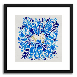 Art print As If Navy by artist Cat Coquillette