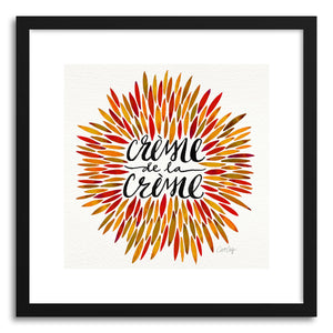 Art print Autumn Creme DeLa Creme by artist Cat Coquillette