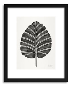 Art print Black Alocasia by artist Cat Coquillette