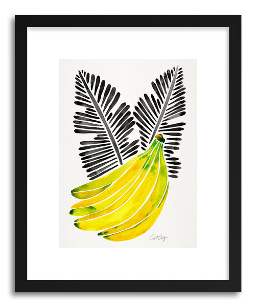 Art print Black Bananas by artist Cat Coquillette