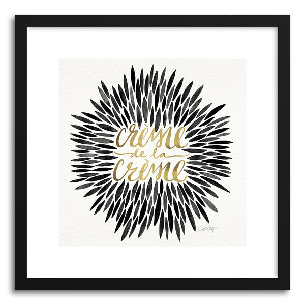 Art print Black Creme DeLa Creme by artist Cat Coquillette
