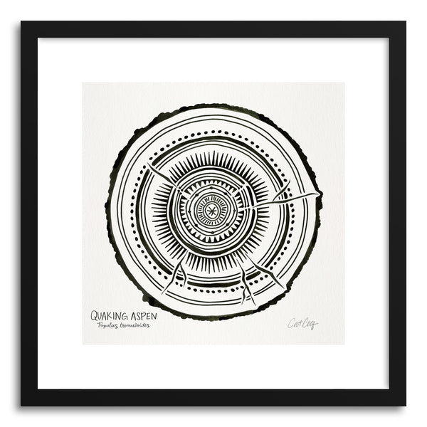 Art print Black Quaking by artist Cat Coquillette
