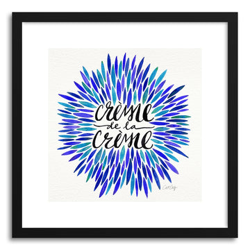 Art print Blues Creme DeLa Creme by artist Cat Coquillette