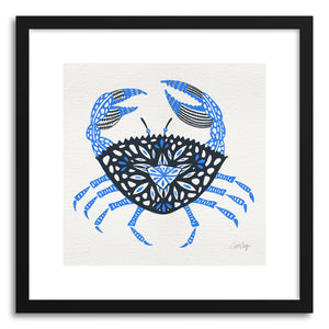 Fine art print Blue Crab by artist Cat Coquillette