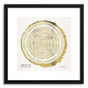 Art print Gold Douglas by artist Cat Coquillette