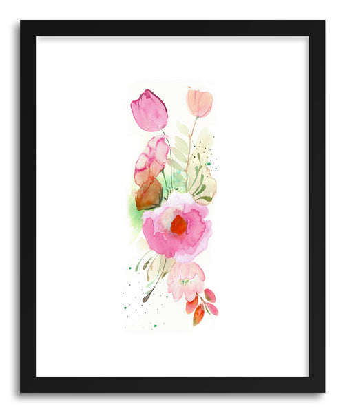 Fine art print Floral Band by artist Christine Lindstorm