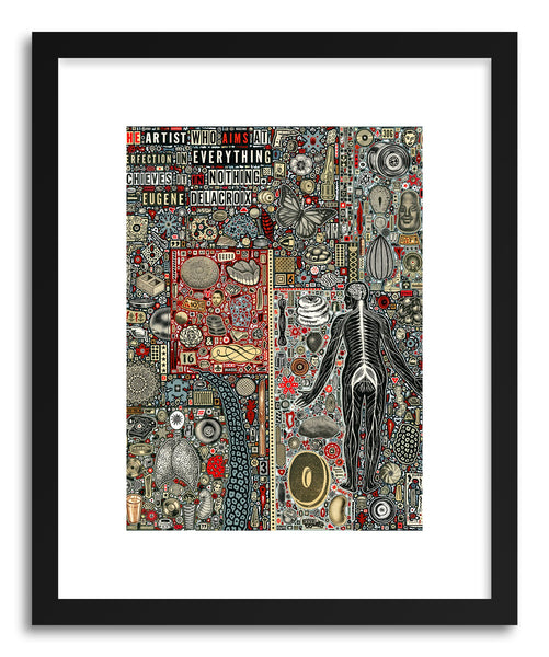 Fine art print Everything And Nothing by artist Colin Johnson