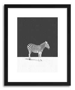 hide - Art print Camouflage by artist Daniel Coulmann in white frame