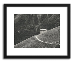 Fine art print Hillside Hut by artist Daniel Coulmann