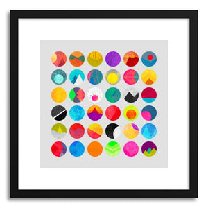 hide - Art print Dots by artist Elisabeth Fredriksson on fine art paper