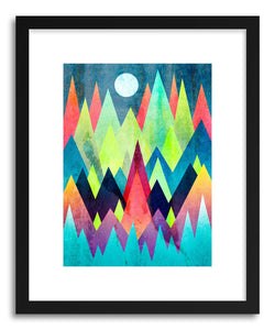 Fine art print Land Of Northern Lights by artist Elisabeth Fredriksson
