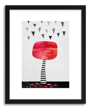 Fine art print The Red Tree by artist Elisabeth Fredriksson