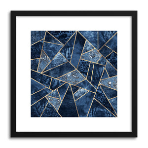 hide - Art print Blue Stone by artist Elisabeth Fredriksson on fine art paper