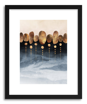 Art print Natural Abstraction by artist Elisabeth Fredriksson
