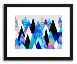 hide - Art print Blue Peaks by artist Elisabeth Fredriksson on fine art paper