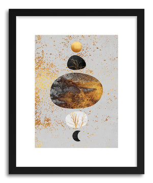 Art print Sun And Moon by artist Elisabeth Fredriksson