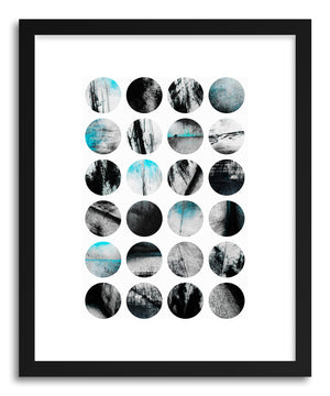 Fine art print Circle Poetry by artist Elisabeth Fredriksson