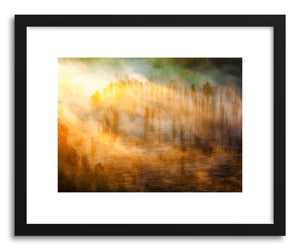 hide - Art print Vit River by artist Evgeni Dinev in natural wood frame