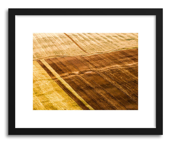 Art print Aerial by artist Evgeni Dinev in black frame