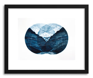 hide - Art print Southern Cross by artist Hannah Mode in white frame